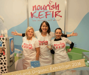 Nourish Kefir at exhibition