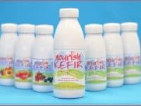Kefir natural tall