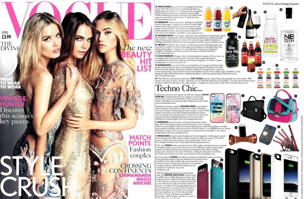 Vogue   Nourish Kefir