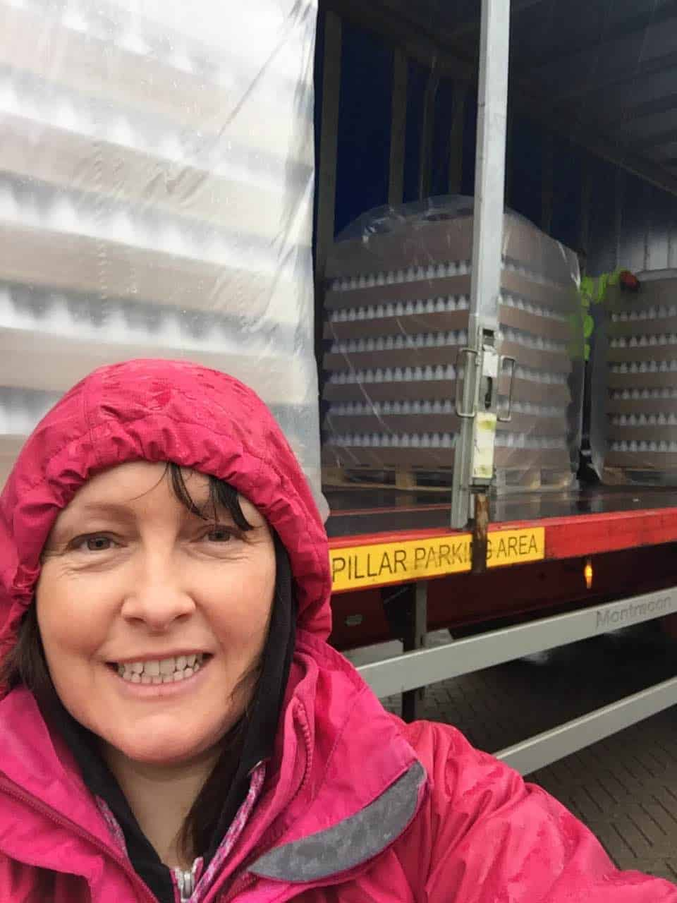Bottles delivery selfie 31.5.16