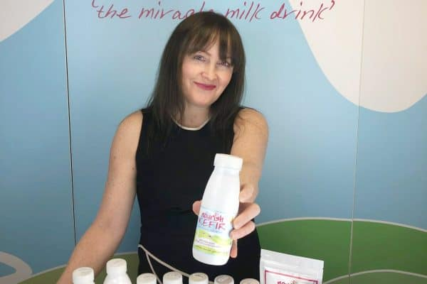 Here's Deborah, founder of Nourish Kefir