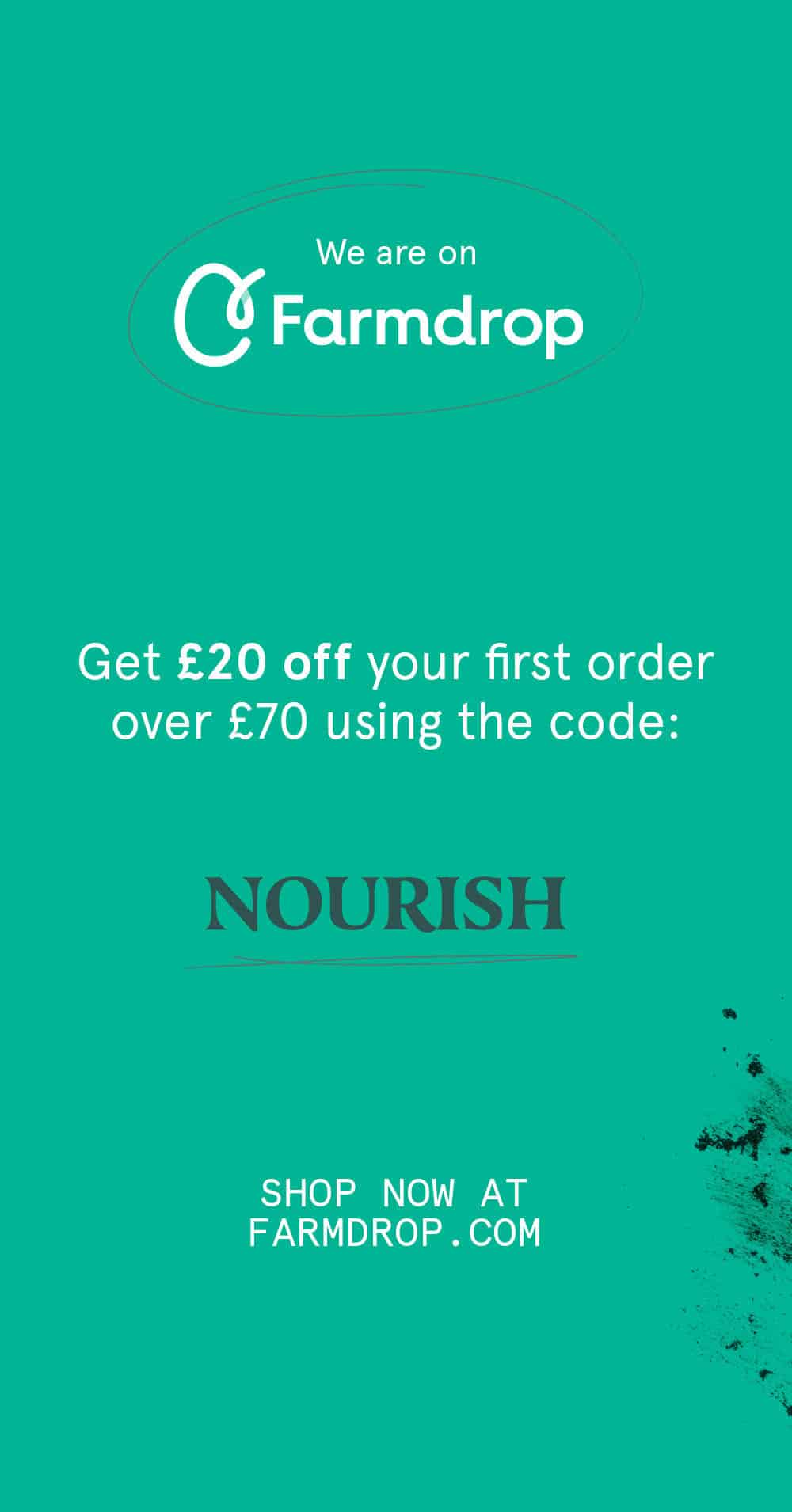 Get £20 off your Farmdrop order