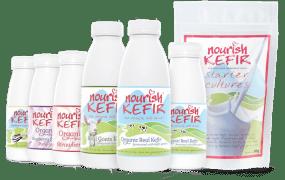 Nourish Organic Kefirs