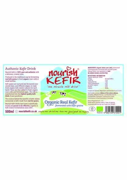 New 500ml cows kefir label